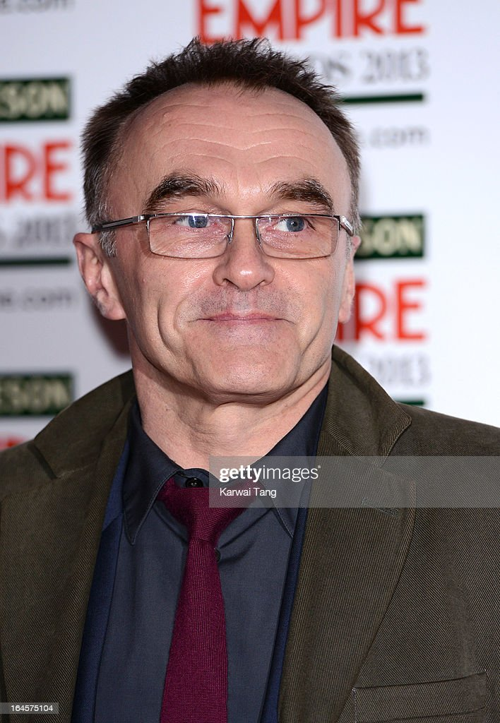 Danny Boyle attends the 18th Jameson Empire Film Awards at Grosvenor House, on March 24, 2013 in London, England.