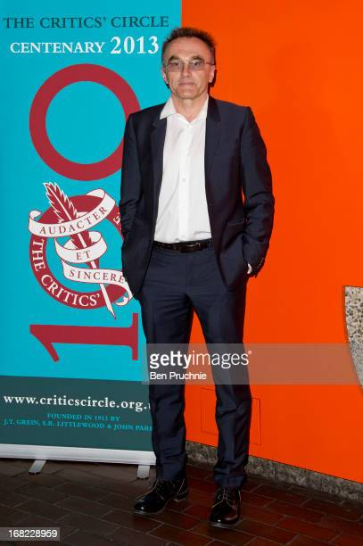 Danny Boyle attends the Critics' Circle Services to Arts awards at Barbican Centre on May 7 2013 in London England
