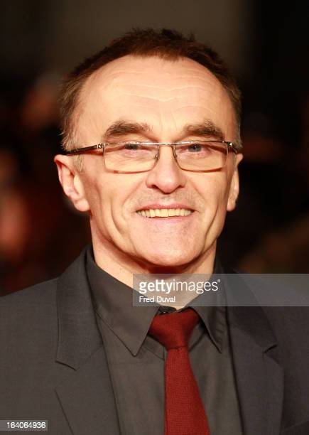 Danny Boyle attends the UK film premiere of Trance at Odeon West End on March 19 2013 in London England