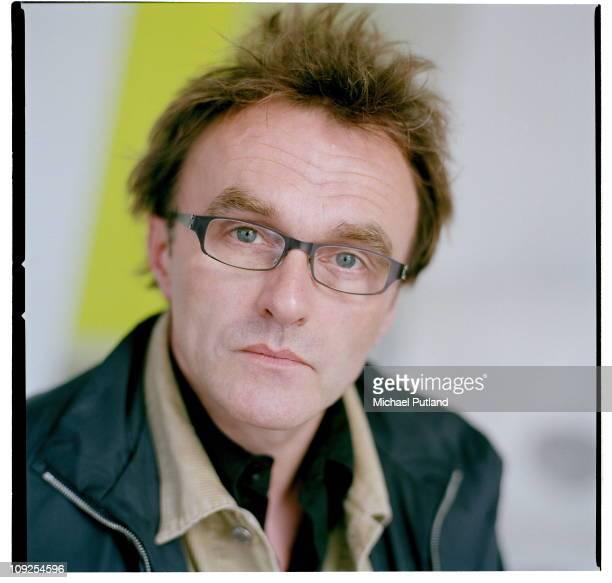 Danny Boyle portrait UK April 2003