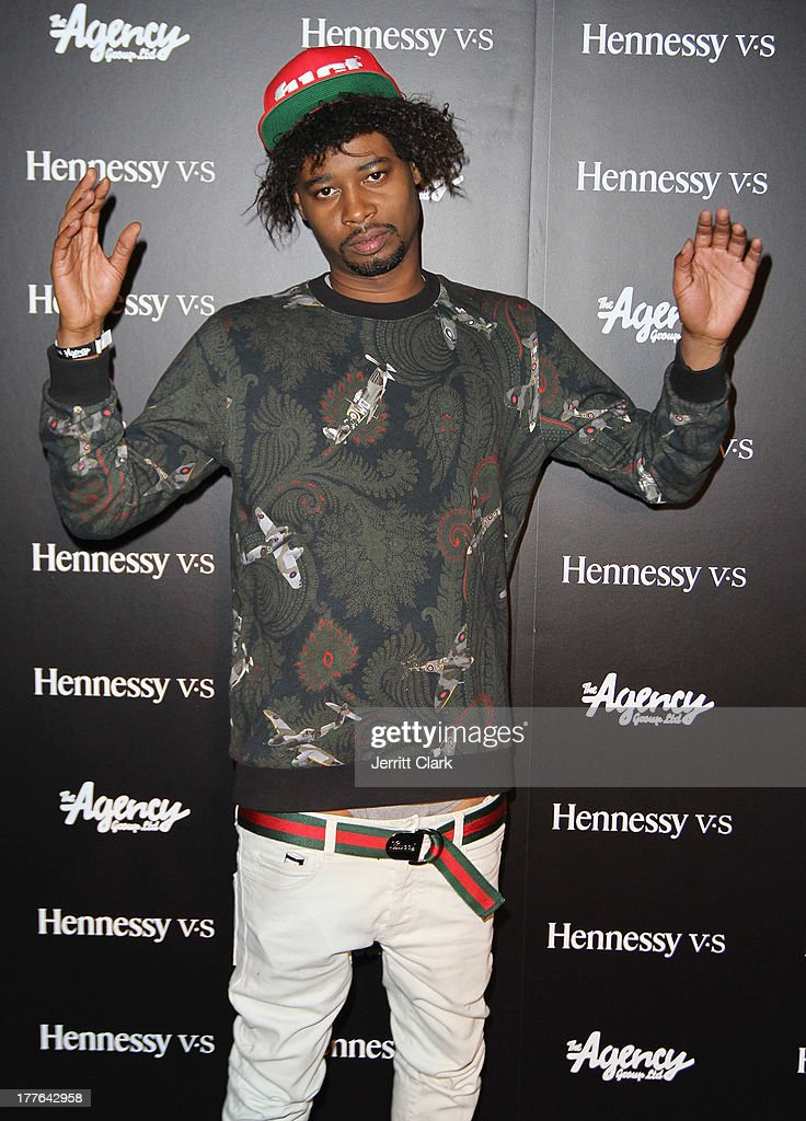 Danny Brown attends the Hennessy VS VMA Celebration at Avenue on August 24, 2013 in New York City.
