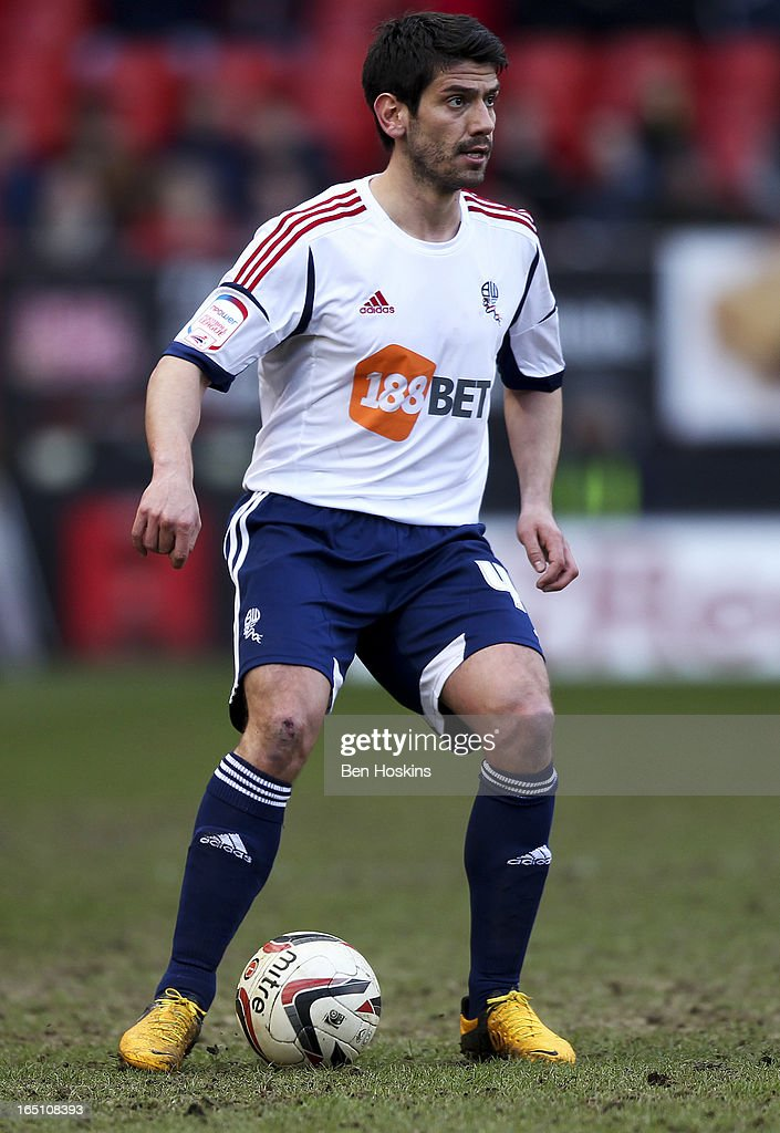 Danny Butterfield of Bolton in action during the npower Championship match between Charlton Athletic and Bolton Wanderers at the Valley on March 30, 2013 in London, England.