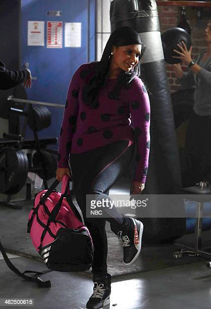 PROJECT 'Danny C is my Personal Trainer' Episode 212 Pictured Mindy Kaling as Mindy Lahiri