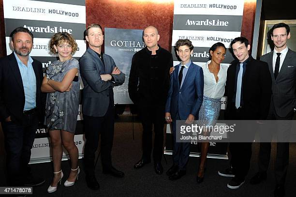 Danny Cannon Camren Bicondova Benjamin McKenzie Dominic Patten David Mazouz Jada Pinkett Smith Robin Taylor and Cory Michael Smith attend the...