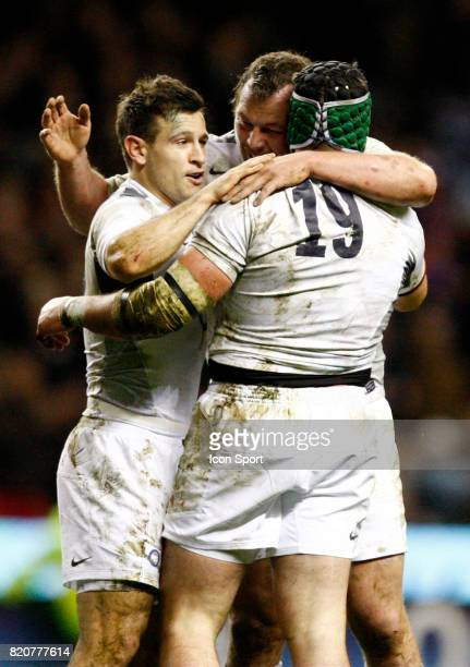 Danny Care / Steve Thompson / Hendre Fourie Angleterre / France Tournoi des 6 Nations 2011 TwickenhamLondres