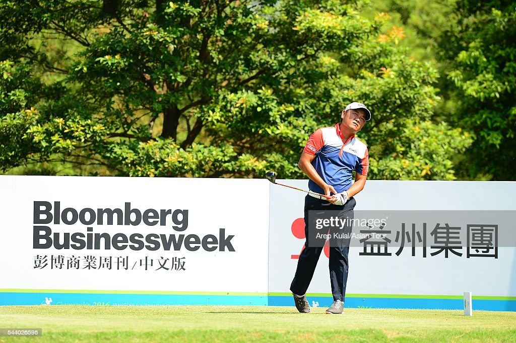 <a gi-track='captionPersonalityLinkClicked' href=/galleries/search?phrase=Danny+Chia&family=editorial&specificpeople=676540 ng-click='$event.stopPropagation()'>Danny Chia</a> of Malaysia pictured during the round 2 of the Yeangder Tournament Players Championship 2016 at Linkou International Golf Club on July 1, 2016 in Taipei, Taiwan.