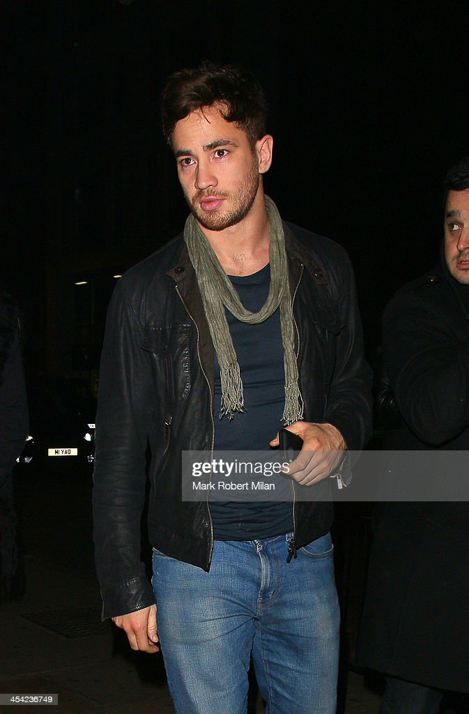 <a gi-track='captionPersonalityLinkClicked' href=/galleries/search?phrase=Danny+Cipriani&family=editorial&specificpeople=688774 ng-click='$event.stopPropagation()'>Danny Cipriani</a> arriving at Chakana night club on December 7, 2013 in London, England.