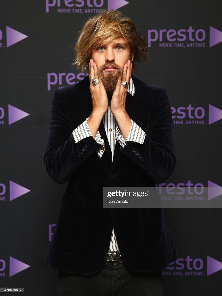 Danny Clayton poses at the Foxtel Presto launch at the Ivy on March 12, 2014 in Sydney, Australia.