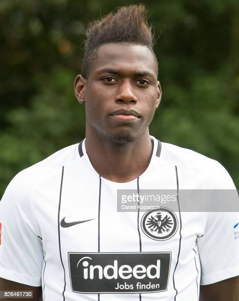 Danny da Costa of Eintracht Frankfurt poses during the team presentation at on August 4 2017 in Frankfurt am Main Germany