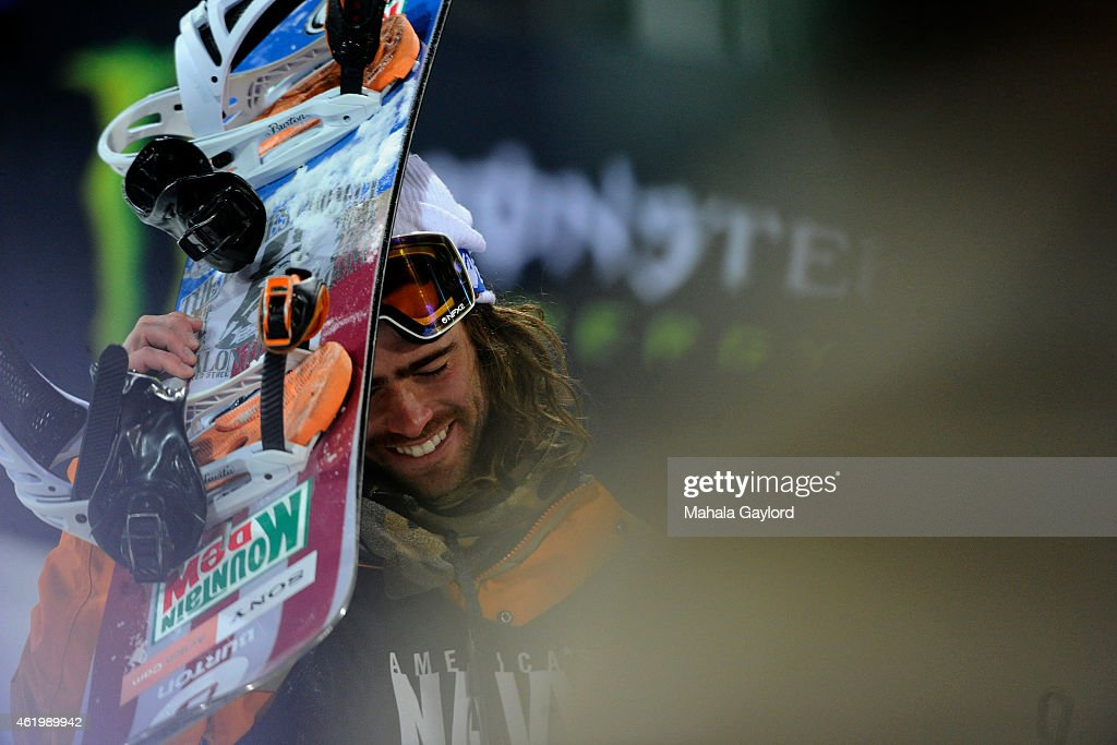 Danny Davis wins his second consecutive gold medal at the men's snowboard superpipe Thursday January 22 Winter X Games 2015 on Buttermilk Mountain
