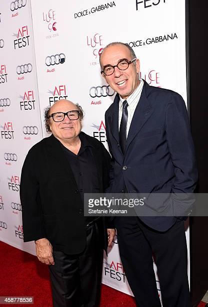 Danny DeVito and Giuseppe Tornatore attend DolceGabbana celebrates the 25th anniversary of Cinema Paradiso and director Giuseppe Tornatore on...