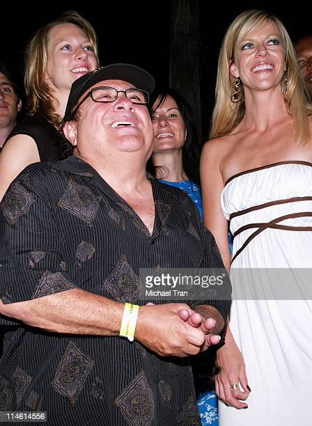 Danny DeVito and Kaitlin Olson during 'It's Always Sunny in Philadelphia' Season Two Premiere Afterparty at Cabana in Los Angeles California United...