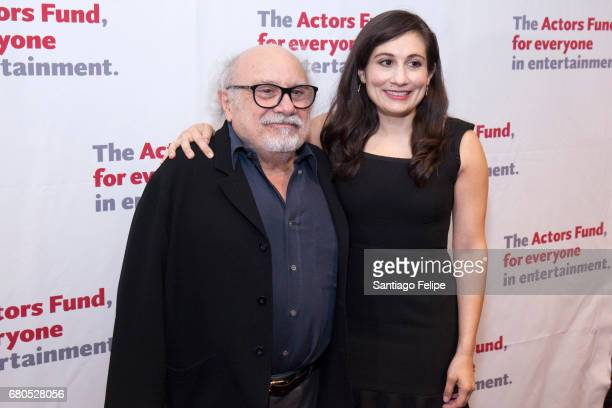 Danny Devito and Lucy Devito attend The 2017 Actors Fund Gala at Marriott Marquis Times Square on May 8 2017 in New York City