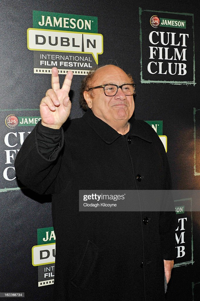 Danny DeVito attends a screening of LA Confidential during the Jameson Cult Film Club on February 21, 2013 in Dublin, Ireland.