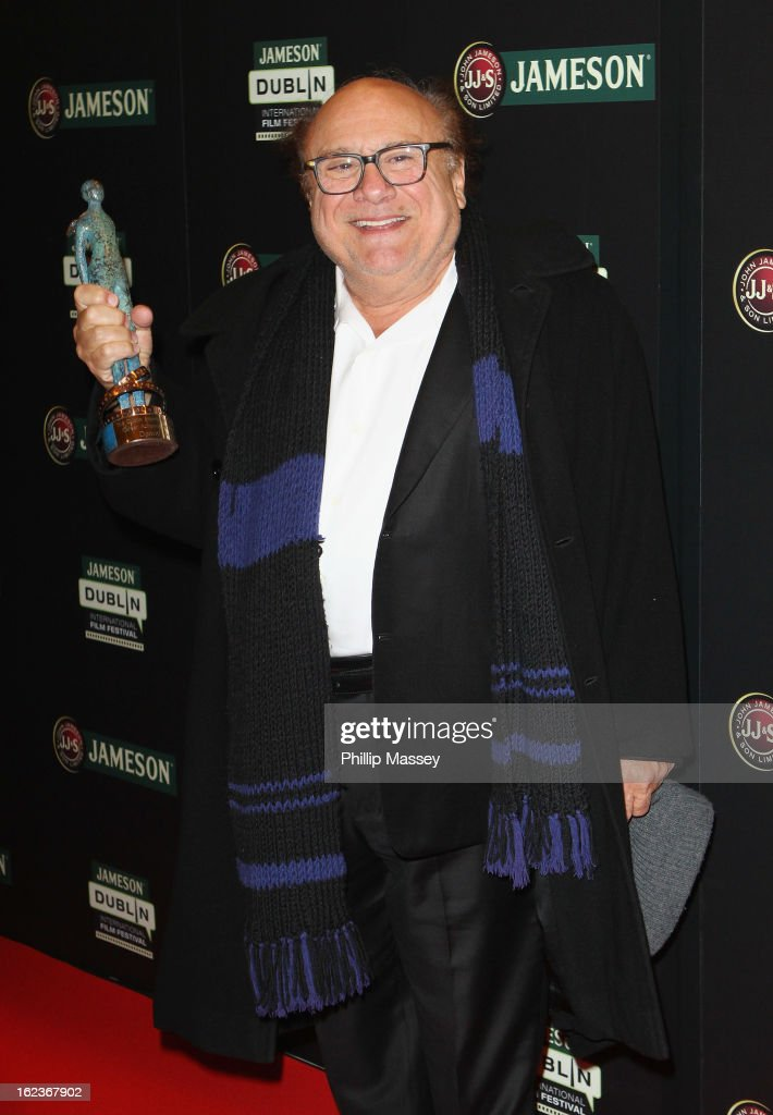 Danny DeVito attends a screening of 'The War of the Roses' during the Jameson International Film Festival on February 22, 2013 in Dublin, Ireland.
