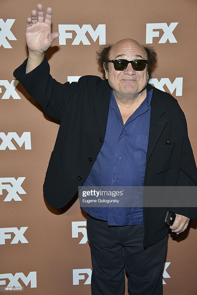 Danny DeVito attends the 2013 FX Upfront Bowling Event at Luxe at Lucky Strike Lanes on March 28, 2013 in New York City.