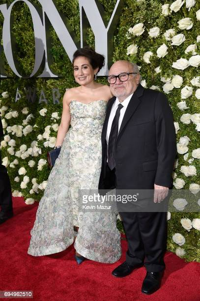 Danny DeVito attends the 2017 Tony Awards at Radio City Music Hall on June 11 2017 in New York City