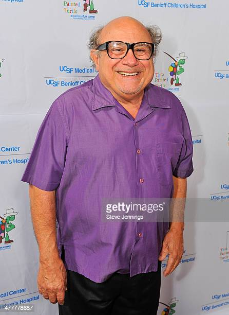 Danny DeVito attends the UCSF Medical Center and The Painted Turtle Present A Starry Evening of Music Comedy Surprises at Davies Symphony Hall on...