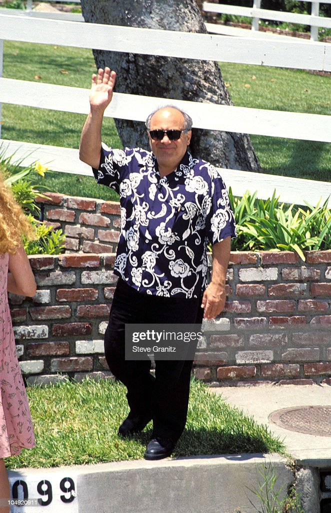Danny Devito during Pediatric Aids Event A Time For Heroes at Private House in Bel Air, California, United States.