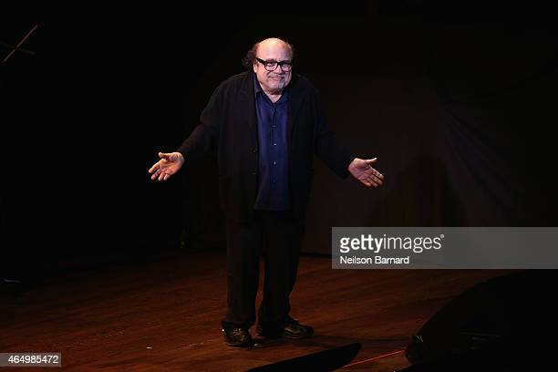 Danny DeVito speaks onstage during SeriousFun Children's Network 2015 New York Gala An Evening of SeriousFun Celebrating the Legacy of Paul Newman at...