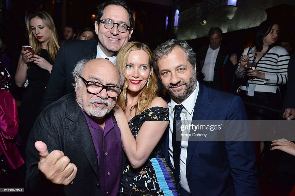 Danny DeVito, Tom Rothman, Leslie Mann and Judd Apatow attend the AFI FEST 2016 presented by Audi - Premiere Of Sony Pictures Classics' 'The Comedian' - After Party at Pig 'N Whistle on November 11, 2016 in Hollywood, California.
