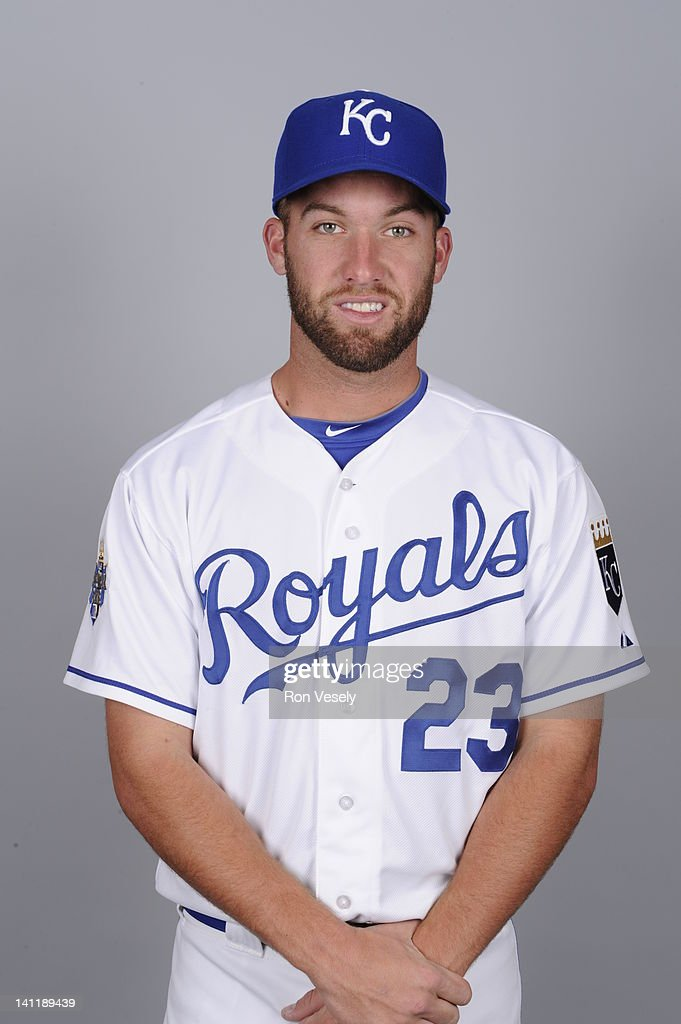 <a gi-track='captionPersonalityLinkClicked' href=/galleries/search?phrase=Danny+Duffy&family=editorial&specificpeople=5971971 ng-click='$event.stopPropagation()'>Danny Duffy</a> #23 of the Kansas City Royals poses during Photo Day on Wednesday, February 29, 2012 at Surprise Stadium in Surprise, Arizona.