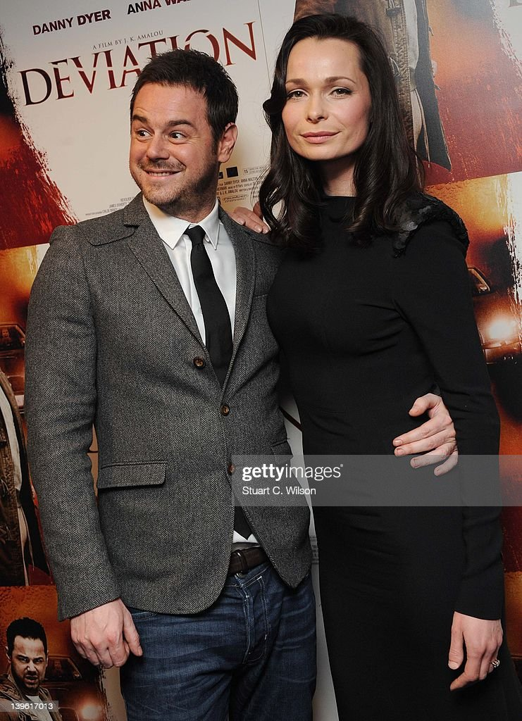 Danny Dyer and Anna Walton attend the Deviation World Premiere at Odeon Covent Garden on February 23, 2012 in London, England.