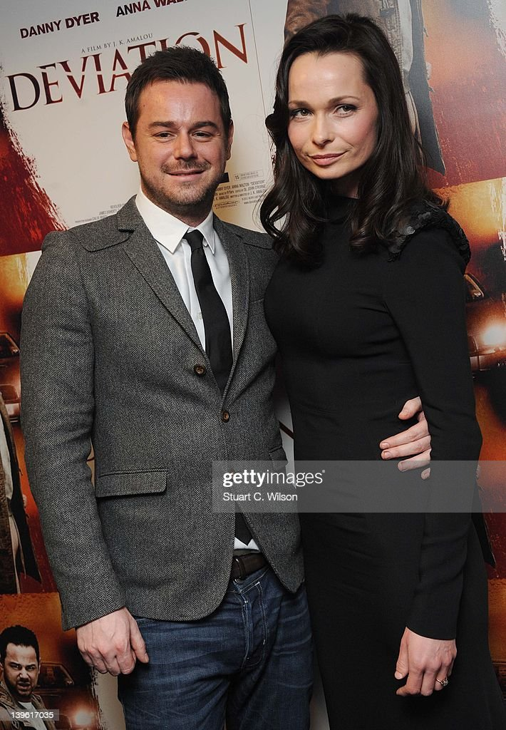 <a gi-track='captionPersonalityLinkClicked' href=/galleries/search?phrase=Danny+Dyer+-+Actor&family=editorial&specificpeople=15358895 ng-click='$event.stopPropagation()'>Danny Dyer</a> and Anna Walton attend the Deviation World Premiere at Odeon Covent Garden on February 23, 2012 in London, England.