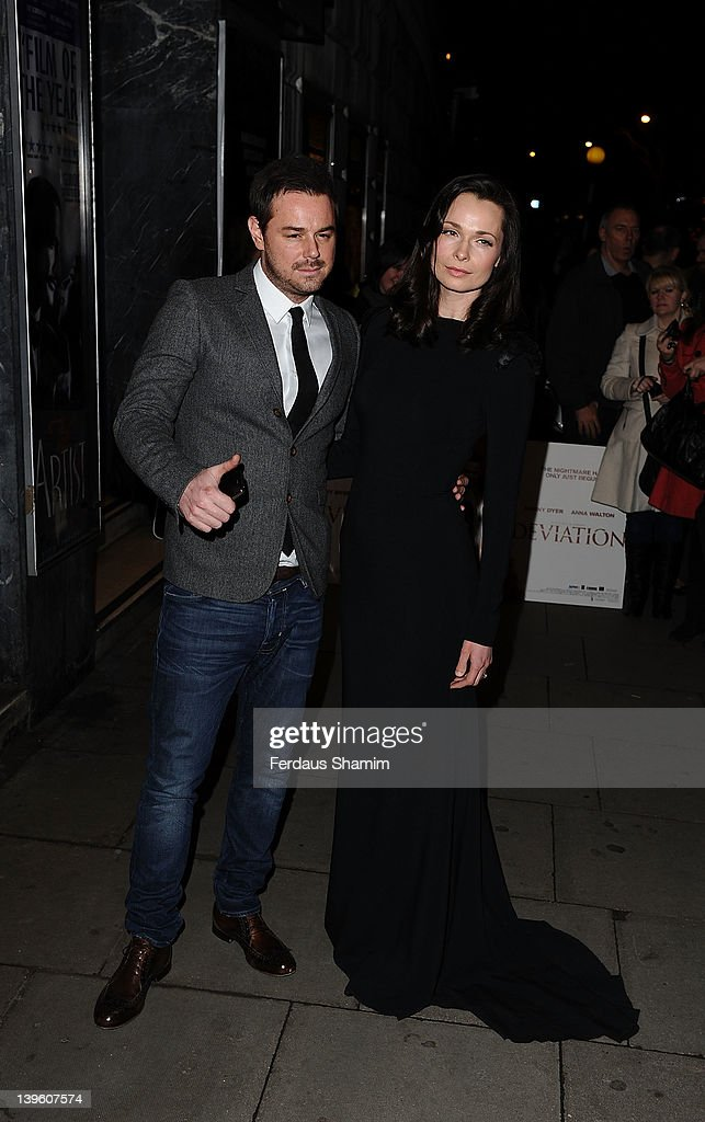 Danny Dyer and Anna Walton attend the world premiere of 'Deviation' at Odeon Covent Garden on February 23, 2012 in London, England.