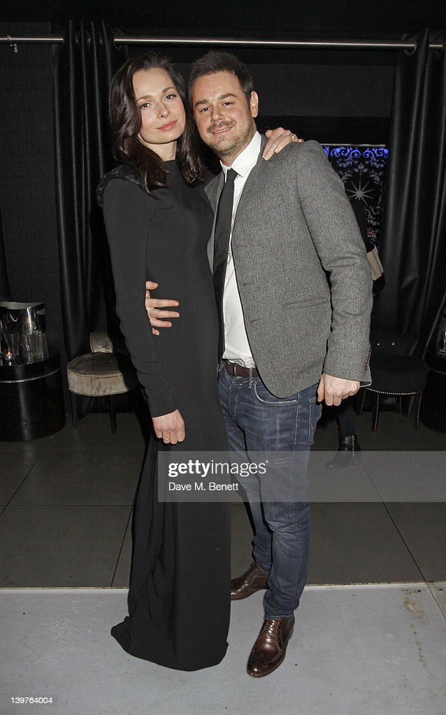 Danny Dyer and Anna Walton attend the World Premiere of 'Deviation' after Party at 55 New Oxford Street on February 23, 2012 in London, England.