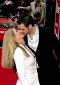 Danny Dyer and Jo during 'The Football Factory' London Premiere Arrivals at Odeon Covent Garden in London Great Britain