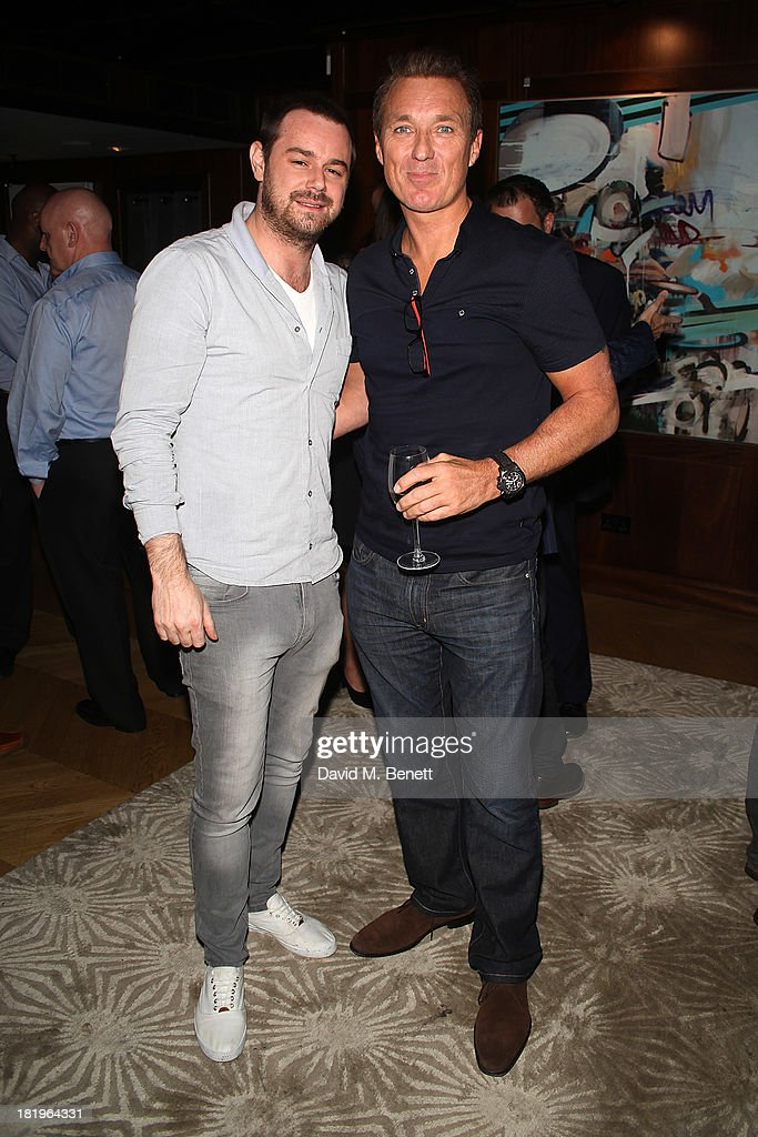 <a gi-track='captionPersonalityLinkClicked' href=/galleries/search?phrase=Danny+Dyer+-+Actor&family=editorial&specificpeople=15358895 ng-click='$event.stopPropagation()'>Danny Dyer</a> and <a gi-track='captionPersonalityLinkClicked' href=/galleries/search?phrase=Martin+Kemp&family=editorial&specificpeople=213385 ng-click='$event.stopPropagation()'>Martin Kemp</a> attend a drinks reception celebrating the new co-production agreement between Anchor Bay Films and Richwater Films at The Groucho Club on September 26, 2013 in London, England.