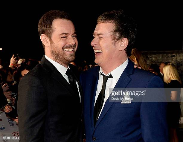 Danny Dyer and Shane Richie attend the National Television Awards at the 02 Arena on January 22 2014 in London England