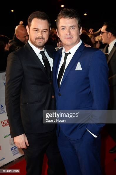 Danny Dyer and Shane Richie attend the National Television Awards 2014 on January 22 2014 in London England