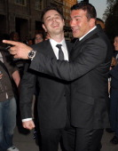 Danny Dyer and Tamar Hassan during Professional Footballers Association Awards Arrivals at The Dorchester in London Great Britain