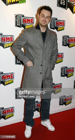 Danny Dyer arrives at the Shockwaves NME Awards 2007