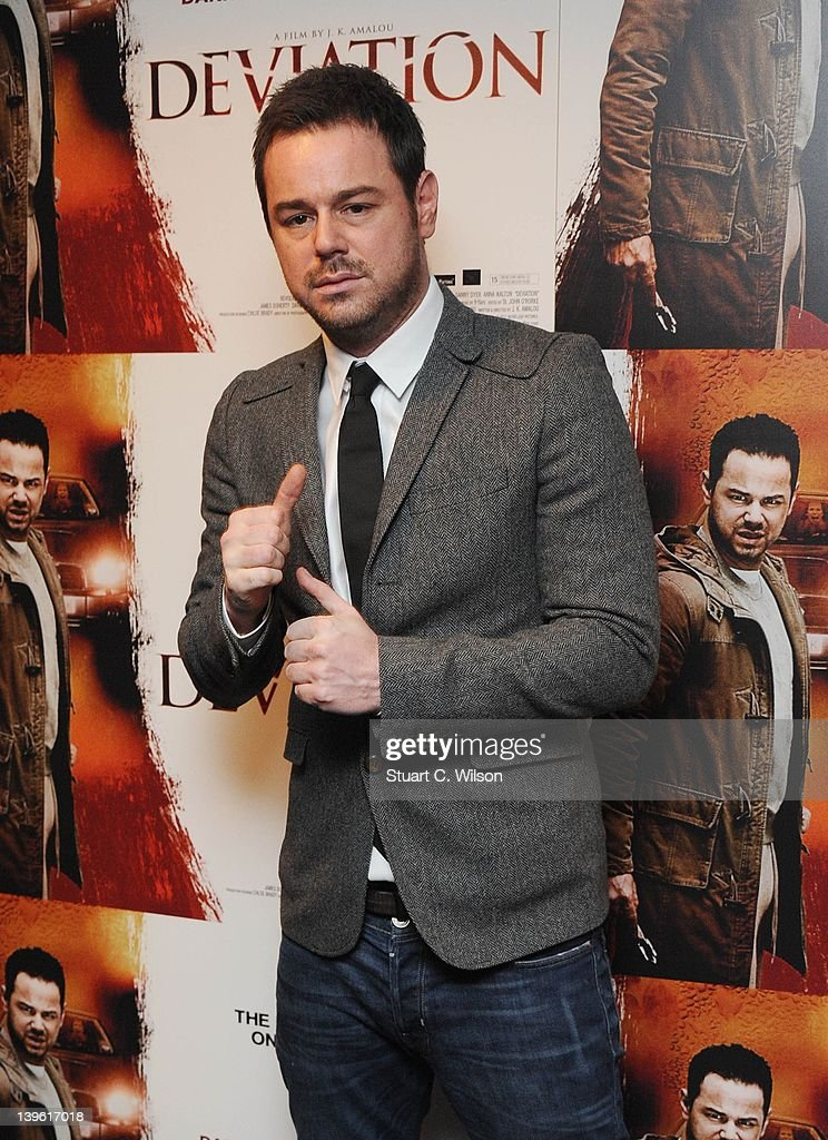 Danny Dyer attend the Deviation World Premiere at Odeon Covent Garden on February 23, 2012 in London, England.