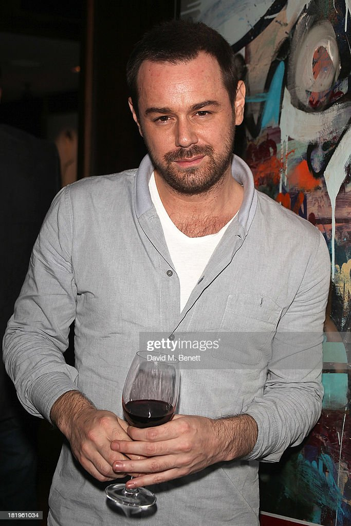 <a gi-track='captionPersonalityLinkClicked' href=/galleries/search?phrase=Danny+Dyer+-+Actor&family=editorial&specificpeople=15358895 ng-click='$event.stopPropagation()'>Danny Dyer</a> attends a drinks reception celebrating the new co-production agreement between Anchor Bay Films and Richwater Films at The Groucho Club on September 26, 2013 in London, England.