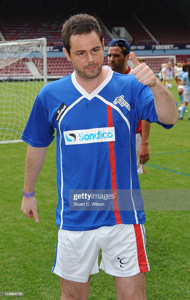 Danny Dyer attends the Celebrity Soccer Six 2012 Tournament at Upton Park on May 20, 2012 in London, England.