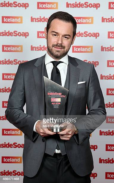 Danny Dyer attends the Inside Soap Awards at Dstrkt on October 1 2014 in London England
