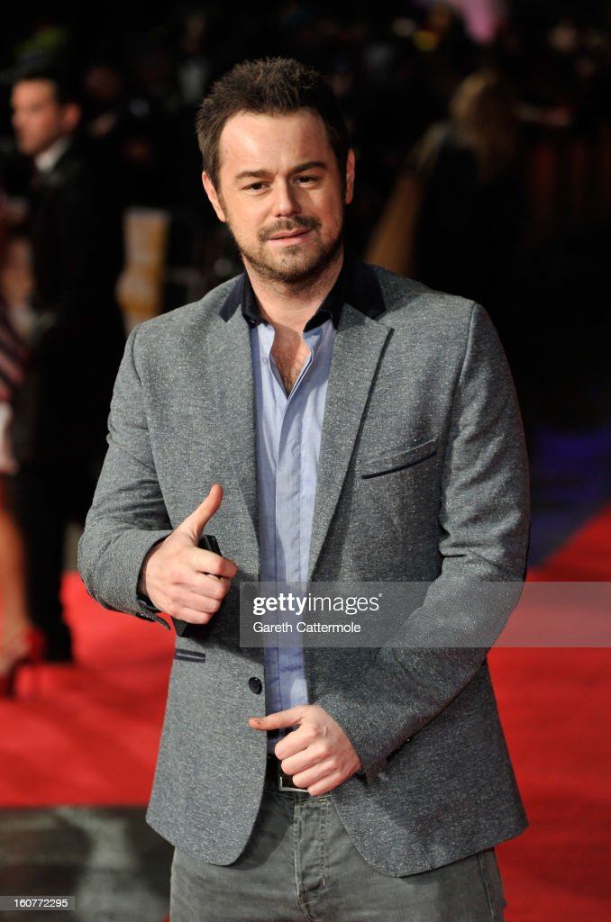 <a gi-track='captionPersonalityLinkClicked' href=/galleries/search?phrase=Danny+Dyer+-+Actor&family=editorial&specificpeople=15358895 ng-click='$event.stopPropagation()'>Danny Dyer</a> attends the UK Premiere of 'Run For Your Wife' at Odeon Leicester Square on February 5, 2013 in London, England.