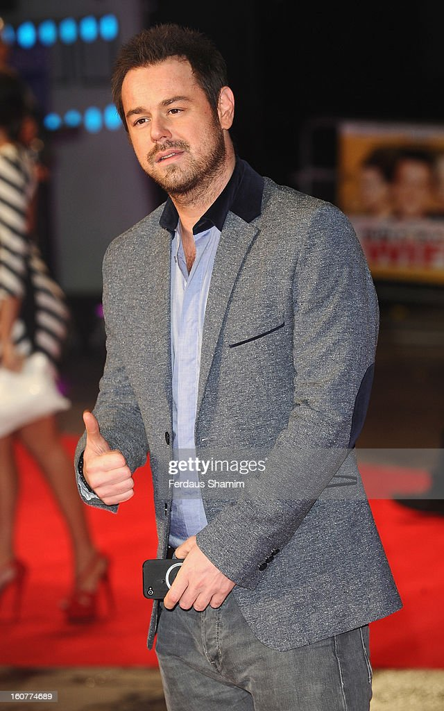 <a gi-track='captionPersonalityLinkClicked' href=/galleries/search?phrase=Danny+Dyer+-+Schauspieler&family=editorial&specificpeople=15358895 ng-click='$event.stopPropagation()'>Danny Dyer</a> attends the UK Premiere of 'Run For Your Wife' at Odeon Leicester Square on February 5, 2013 in London, England.