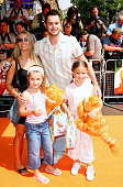 Danny Dyer during The UK Charity Premiere Of 'Garfield the Movie' Arrivals at Liecester Square Vue Cinema in London Great Britain