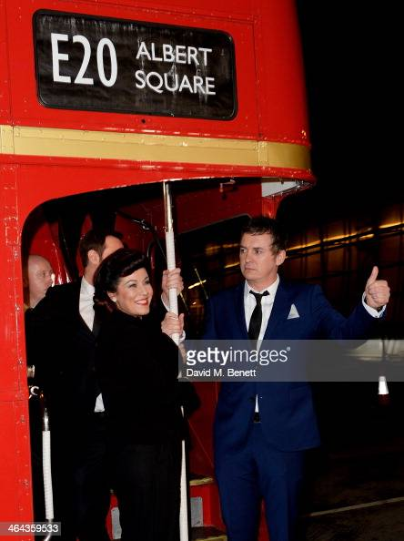 Danny Dyer Jessie Wallace and Shane Richie of EastEnders attend the National Television Awards at the 02 Arena on January 22 2014 in London England
