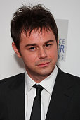 Danny Dyer poses in the press room during the Laurence Olivier Awards 2008 at Grosvenor House on March 9 2008 in London England