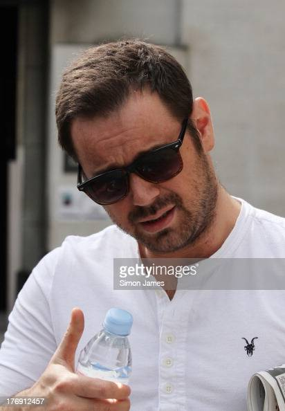 Danny Dyer sighting on August 19 2013 in London England