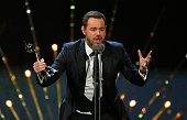 Danny Dyer wins the award for Best Serial Drama Performance at the 21st National Television Awards at The O2 Arena on January 20 2016 in London...
