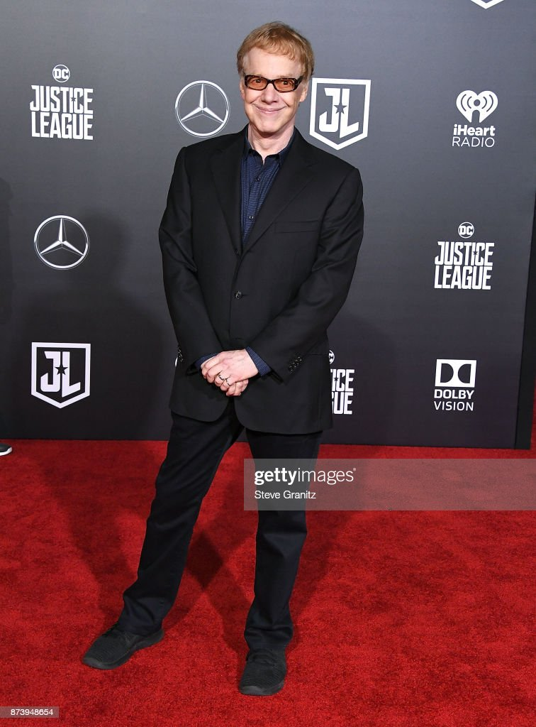 Danny Elfman arrives at the Premiere Of Warner Bros. Pictures' 'Justice League' at Dolby Theatre on November 13, 2017 in Hollywood, California.