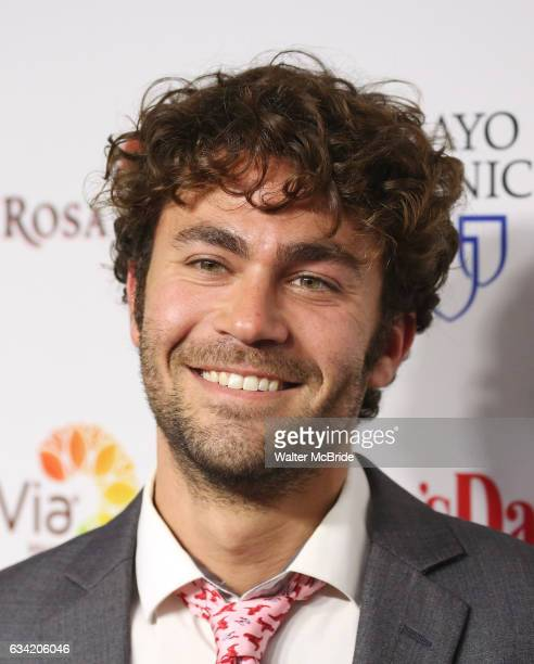 Danny Fischer attends the 14th Annual Red Dress Awards presented by Woman's Day Magazine at Jazz at Lincoln Center Appel Room on February 7 2017 in...