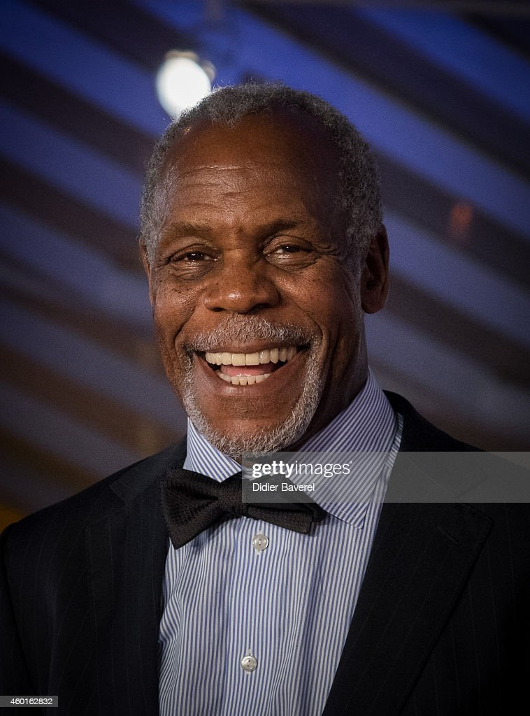 Danny Glover arrives on the red carpet for the movie 'The Narrow Frame Of Midnight' during the 14th Marrakech International Film Festival December 8...